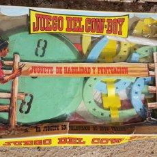 Figuras de Goma y PVC: JUEGO DE COWBOY COMANSI. Lote 182675010