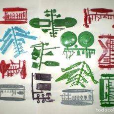 Figuras de Goma y PVC: LOTE MONTAPLEX DE COLADAS DIVERSAS. Lote 182676513