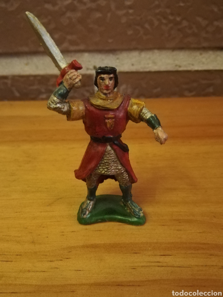 Figuras de Goma y PVC: Estereoplast capitán trueno - Foto 3 - 182696066