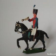 Figuras de Goma y PVC: SOLDADO A CABALLO TORRES MALTAS. Lote 182764861