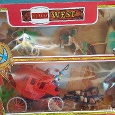 Figuras de Goma y PVC: COMANSI WEST. Lote 182777403