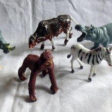 Figuras de Goma y PVC: FAUNA AFRICANA DE COMANSI - LOTE DE 7 ANIMALES. Lote 182851966