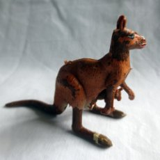 Figuras de Goma y PVC: CANGURO CON CRIA ANIMALES DE COMANSI. Lote 182853066