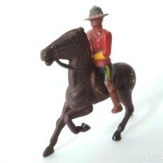 Figuras de Goma y PVC: POLICÍA MONTADA DEL CANADÁ REAMSA. Lote 182912218