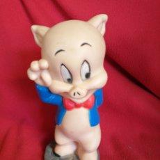 Figuras de Goma y PVC: CERDO PORKY WARNER BROS AÑO 1998. Lote 182944342