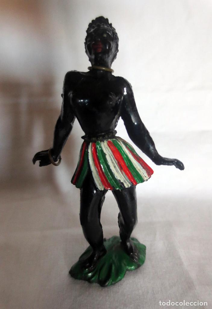 BAILARINA AFRICANA DE LAFREDO (Juguetes - Figuras de Goma y Pvc - Lafredo)