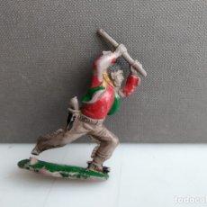 Figuras de Goma y PVC: ANTIGUA FIGURITA DE REAMSA O ALGUNA OTRA MARCA DE LA EPOCA VAQUERO EN GOMA. Lote 182992412