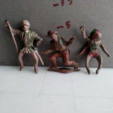 Figuras de Goma y PVC: ANTIGUA FIGURITA DE REAMSA O ALGUNA OTRA MARCA DE LA EPOCA INDIO EN GOMA. Lote 182992571
