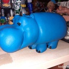 Figuras de Goma y PVC: HIPOPÓTAMO AUSONIA DODOTIS AÑOS 80.DODOT DODOT NI GOTA NI GOTA.... Lote 183064361