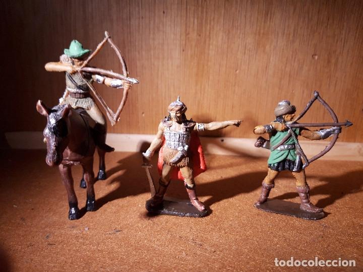 SOLDADOS DE PLASTICO MONGOLES JECSAN COMO NUEVOS (Juguetes - Figuras de Goma y Pvc - Jecsan)