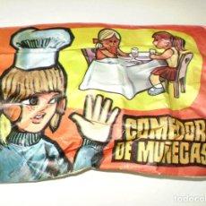 Figuras de Goma y PVC: SOBRE MONTAPLEX COMEDOR DE MUÑECAS - SOBRE CERRADO. Lote 228458016