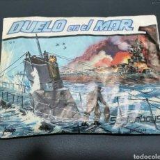 Figuras de Goma y PVC: SOBRE CERRADO DUELO EN EL MAR SERJANBOYS TIPO MONTAPLEX. Lote 183330615