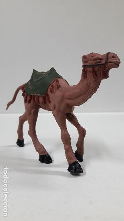 Figuras de Goma y PVC: CAMELLO . SERIE LAWRENCE DE ARABIA . REALIZADO POR REAMSA . AÑOS 50 EN GOMA - Foto 3 - 183374432