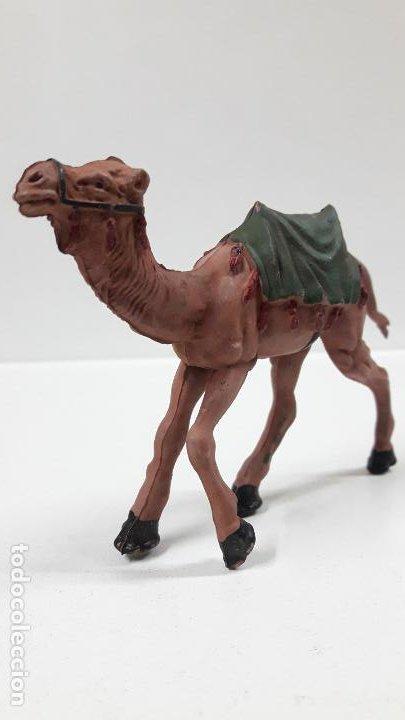 Figuras de Goma y PVC: CAMELLO . SERIE LAWRENCE DE ARABIA . REALIZADO POR REAMSA . AÑOS 50 EN GOMA - Foto 4 - 183374432