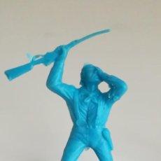 Figuras de Goma y PVC: FIGURA PLÁSTICO MONOCROMA REAMSA GOMARSA SOLDADO 7º CABALLERÍA CUSTER LITTLE BIG HORN. Lote 183423488