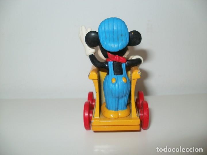 Figuras de Goma y PVC: MICKEY MOUSE CON LOCOMOTORA DISNEY M F G BY MONOGRAM PRODUTS INC LARGO FLORIDA - Foto 4 - 183479885