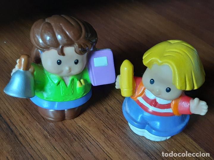 Figuras de Goma y PVC: Lote muñecos Little People, Mattel - Foto 2 - 183485496