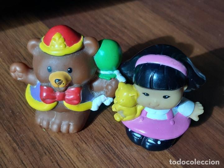 Figuras de Goma y PVC: Lote muñecos Little People, Mattel - Foto 3 - 183485496