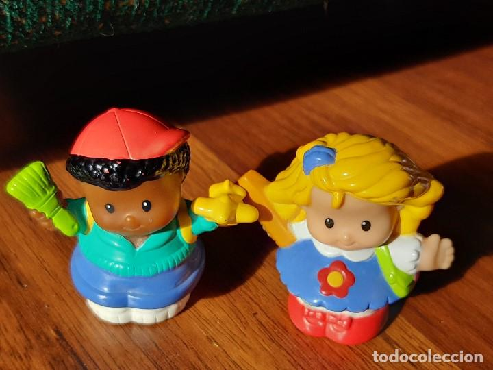 Figuras de Goma y PVC: Lote muñecos Little People, Mattel - Foto 4 - 183485496