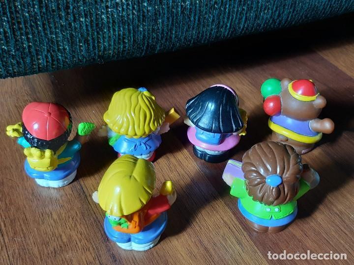 Figuras de Goma y PVC: Lote muñecos Little People, Mattel - Foto 7 - 183485496