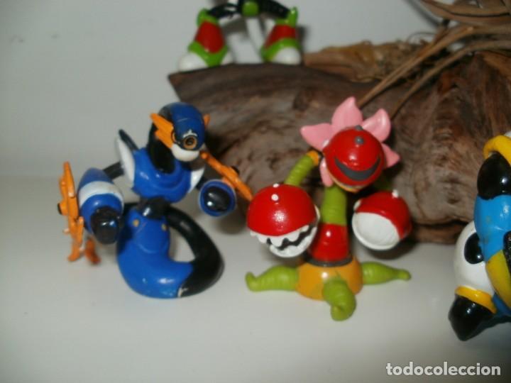 Figuras de Goma y PVC: LOTE DE FIGURAS MUÑECOS DE GOMA MARIOMAGIC - Foto 3 - 183492758