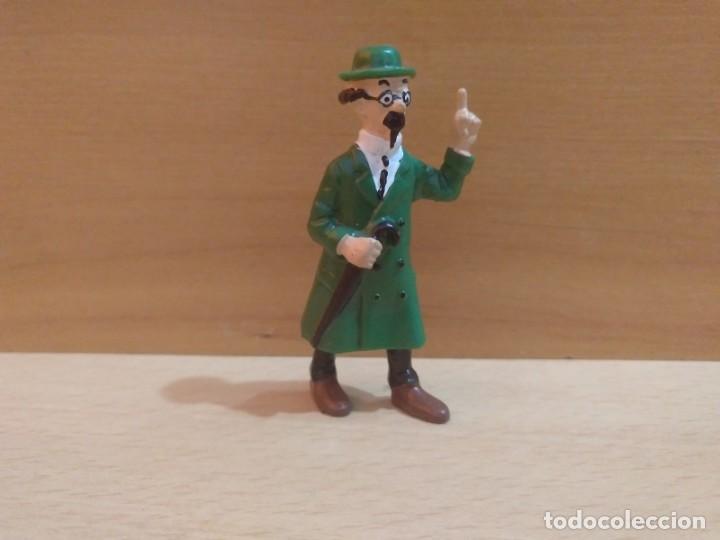 FIGURA PVC PROFESOR TORNASOL TINTIN (Juguetes - Figuras de Goma y Pvc - Bully)