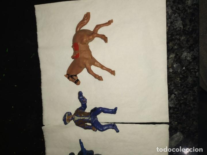 Figuras de Goma y PVC: Figuras la ponderosa fart west oeste comansi bonanza - Foto 3 - 183503515