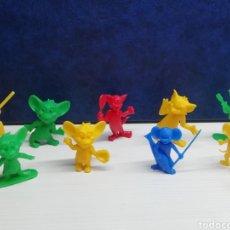 Figuras de Goma y PVC: FIGURAS PROMOCIONALES DUNKIN TOM Y JERRY. Lote 183531206
