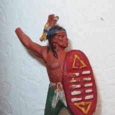Figuras de Goma y PVC: INDIO DE GOMA,TEIXIDÓ?,AÑOS 50. Lote 183602477