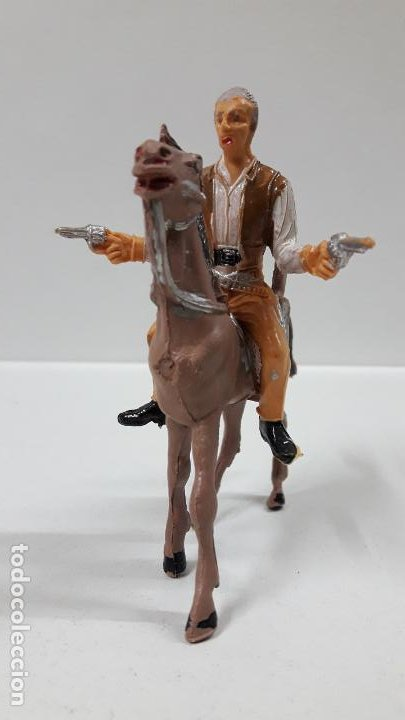 Figuras de Goma y PVC: JOHN CANNON PARA CABALLO . EL GRAN CHAPARRAL . REALIZADA POR COMANSI . AÑOS 60 . CABALLO NO INCLUIDO - Foto 2 - 183603192