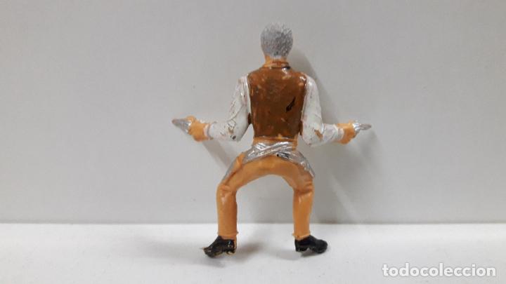 Figuras de Goma y PVC: JOHN CANNON PARA CABALLO . EL GRAN CHAPARRAL . REALIZADA POR COMANSI . AÑOS 60 . CABALLO NO INCLUIDO - Foto 6 - 183603192