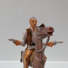 Figuras de Goma y PVC: JOHN CANNON PARA CABALLO . EL GRAN CHAPARRAL . REALIZADA POR COMANSI . AÑOS 60 . CABALLO NO INCLUIDO. Lote 183603192