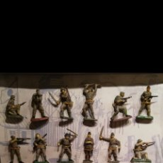 Figuras de Goma y PVC: JECSAN CAJA INFANTERÍA JAPONESA. Lote 183605255