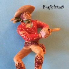 Figuras de Goma y PVC: LAFREDO - COWBOY GRANDE - SERIE OESTE. INDIOS Y VAQUEROS - AÑOS 60. Lote 183613042