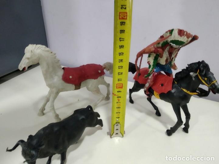 Figuras de Goma y PVC: LOTE DE FIGURAS JECSAN O DE OTRA MARCA DE LA EPOCA MUY GRANDES - Foto 5 - 183671860