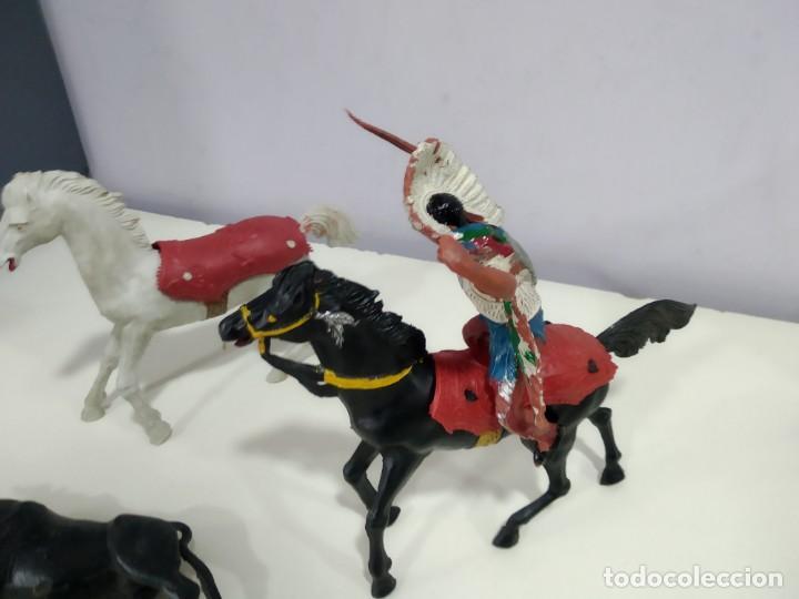 Figuras de Goma y PVC: LOTE DE FIGURAS JECSAN O DE OTRA MARCA DE LA EPOCA MUY GRANDES - Foto 8 - 183671860