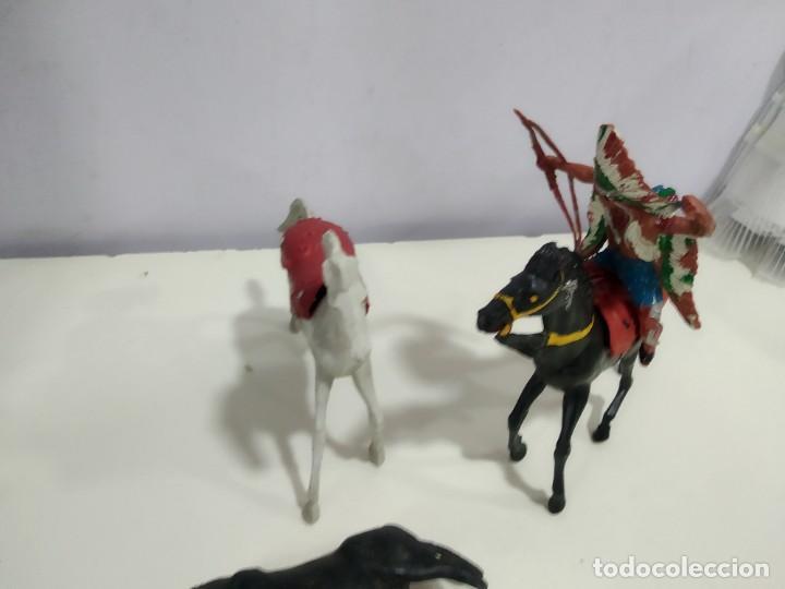 Figuras de Goma y PVC: LOTE DE FIGURAS JECSAN O DE OTRA MARCA DE LA EPOCA MUY GRANDES - Foto 9 - 183671860