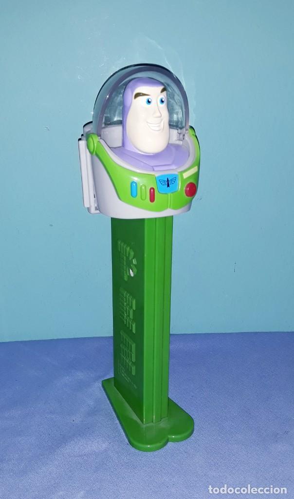 DISPENSADOR GIGANTE DE CARAMELOS PEZ XL BUZZ LIGHTYEAR EN MUY BUEN ESTADO ORIGINAL (Juguetes - Figuras de Gomas y Pvc - Dispensador Pez)