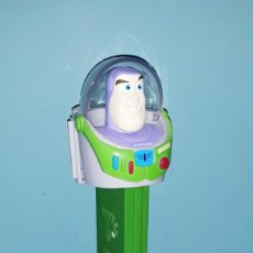 Dispensador Pez: DISPENSADOR GIGANTE DE CARAMELOS PEZ XL BUZZ LIGHTYEAR EN MUY BUEN ESTADO ORIGINAL. Lote 183695935