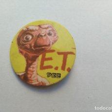 Dispensador Pez: E.T. EL EXTRATERRESTRE - CHAPA PROMOCIONAL 1982 DE CARAMELOS PEZ -. Lote 183699218