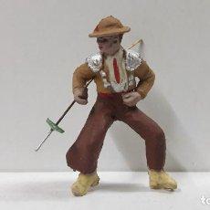 Figuras de Goma y PVC: PICADOR PARA CABALLO . REALIZADO POR PECH . AÑOS 60. Lote 183699596