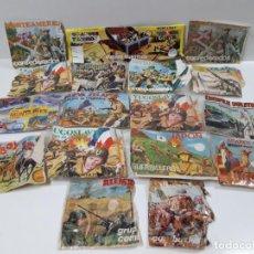 Figuras de Goma y PVC: BOLSA ORIGINAL - SOBRES MONTAPLEX Y OTRAS MARCAS . AÑOS 70 / 80 . SIN CONTENIDO . DEFECTUOSOS . Lote 183713567