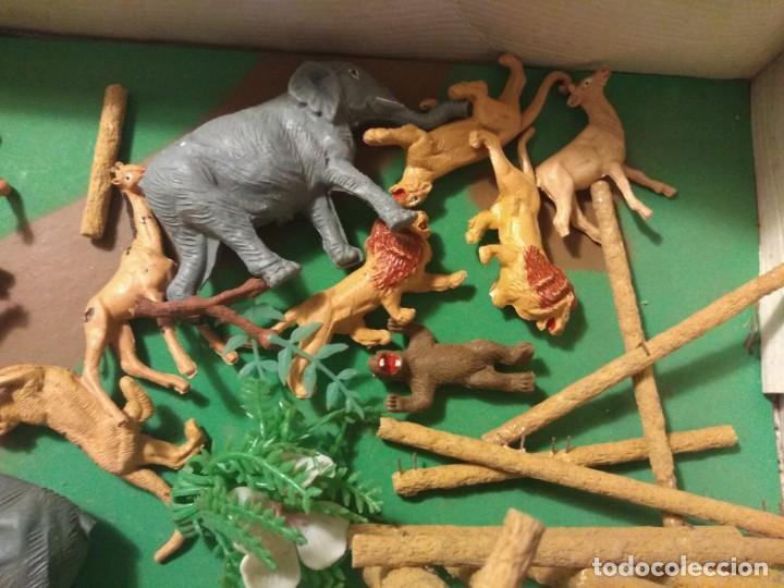 Figuras de Goma y PVC: Impresionante Comansi Tarzan en la Selva Ref. 177 - Foto 4 - 183720132