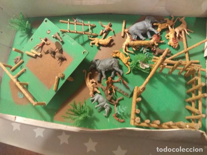 Figuras de Goma y PVC: Impresionante Comansi Tarzan en la Selva Ref. 177 - Foto 5 - 183720132
