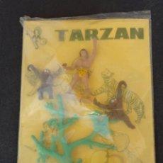 Figuras de Goma y PVC: SOTORRES TARZAN PLANOPLIA. Lote 183732346