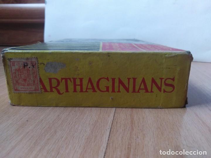 Figuras de Goma y PVC: Caja Cartagineses Roja y Malaret con elefantes. Original. Pech Jecsan. - Foto 2 - 254455230