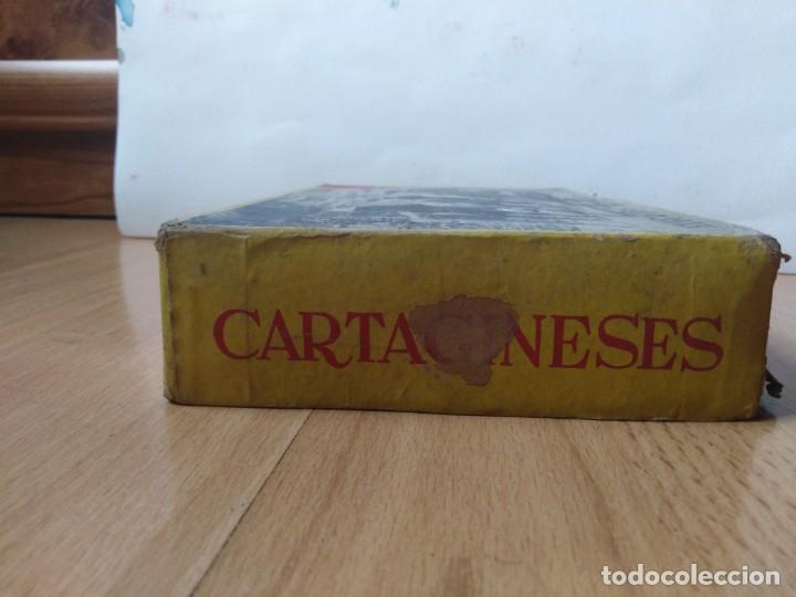 Figuras de Goma y PVC: Caja Cartagineses Roja y Malaret con elefantes. Original. Pech Jecsan. - Foto 5 - 254455230