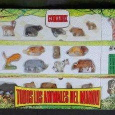 Figuras de Goma y PVC: COMANSI TODOS LOS ANIMALES DEL MUNDO CAJA. Lote 183827696