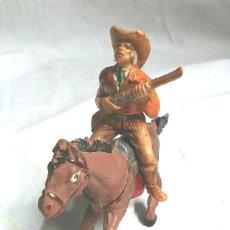 Figuras de Goma y PVC: BUFALO BILL A CABALLO DE COMANSI. Lote 183833933