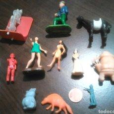 Figuras de Goma y PVC: LOTE 12,FIGURAS TIPO DUNKIN,DE GOMA O PVC,IDEAL COLECCIONISTAS. Lote 183866192